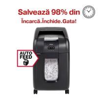 Distrugator automat de documente Rexel Auto+ 200X, 200 coli, particule