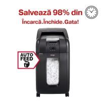 Distrugator automat de documente Rexel Auto+ 300X, 300 coli, particule