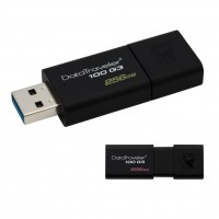 USB flash drive Kingston Data Traveler 100, 256 GB, USB 3.0