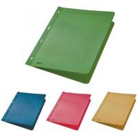 Dosar carton color cu capse 1/1 Leitz