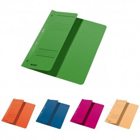 Dosar carton color cu capse 1/2 Leitz