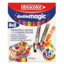 Carioca set 8+2 Fibracolor Double Magic