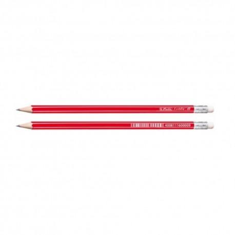 Creion HB cu radiera Herlitz Xsketch