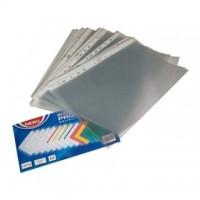 File plastic A4, 35 microni, 100 buc./set, Exxo