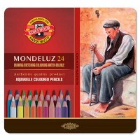 Set 24 piese Koh-I-Noor Mondeluz Aquarell