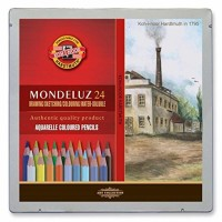 Set 24 piese Aquarell Mondeluz Landscape Koh-I-Noor