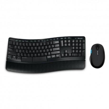 Tastatura multimedia + Mouse laser, wireless, Microsoft Confort 5050