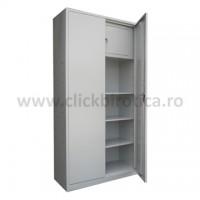 Dulap metalic H1800 cu 3 polite si seif