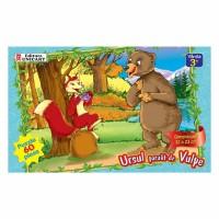 Puzzle 60 piese maxi Ursul pacalit, Unicart