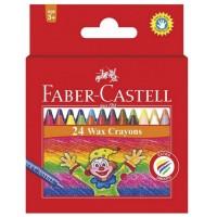 Creioane colorate cerate Faber-Castell 16 culori