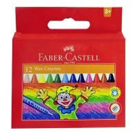 Creioane colorate cerate Faber-Castell 12 culori