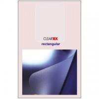 Covoras PVC transparent pentru protectie mocheta, 121x92cm, Floortex