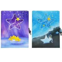 Agenda jurnal cu lacatel design Stars, Starpak