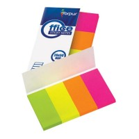 Stick index hartie color 50 x 20 mm, 4 x 40 file/set