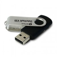 USB flash drive Serioux DataVault V35, 32 GB, capac pivotant
