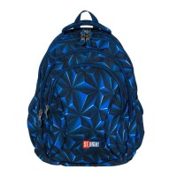 Rucsac ergonomic St.Right 3D Navy Abstraction