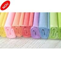 Hartie creponata 0,5x2m, set 10 culori pastel, Koh-I-Noor