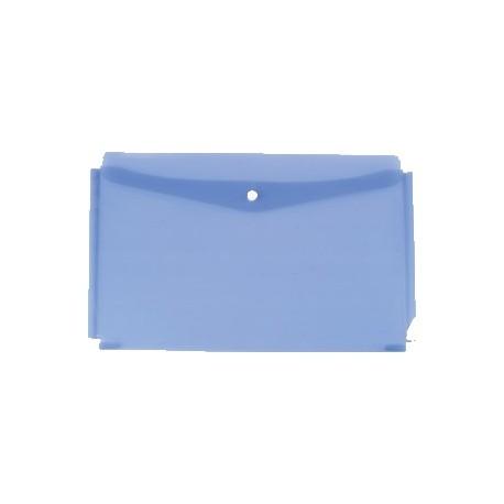 Plic din plastic cu capsa si burduf, A4 landscape, Centrum, culori asortare