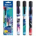 Stilou Pelikan Gallery + set 6 rezerve cerneala