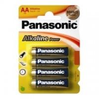 Baterie alcalina R6 – AA, set 4 bucati, Panasonic