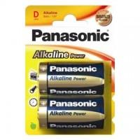 Baterie alcalina LR20 – D, set 2 bucati, Panasonic