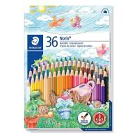 Creioane color Staedtler 36 culori Noris