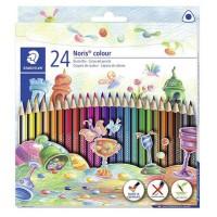 Creioane colorate Staedtler 24 culori Noris