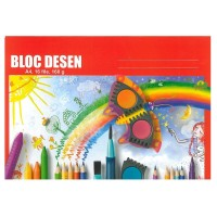 Bloc desen A4, 16 file, 160g/mp