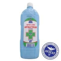 Sapun lichid antibacterian ABA, rezerva 1 Litru (avizat Ministerul Sanatatii)