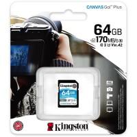 Card Micro SDXC 64 GB, clasa 10 UHS-I, 170MB/s, Kingston
