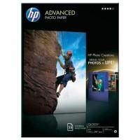 Hartie HP Advanced Glossy Photo Paper A4, 250g/mp, 25coli/top