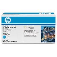 Cartus toner HP CE261A (648A) cyan
