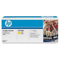 Cartus toner HP CE742A (307A) yellow