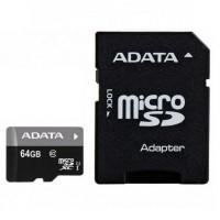 Card Micro SDXC 64 GB, clasa 10 UHS-I, 100MB/s, AData