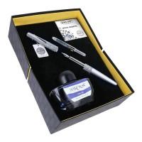 Set cadou Online cu cristale Swarovski argintiu