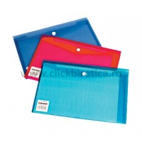 Plic din plastic cu capsa A5 landscape, Centrum - culori asortate