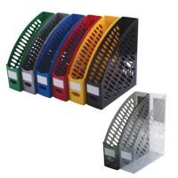 Suport vertical plastic pentru cataloage Ark