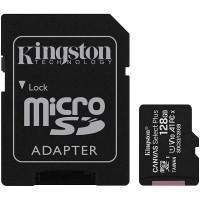Card Micro SDXC 128 GB, clasa 10 UHS-I R/W 100/10, Kingston