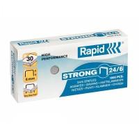 Capse Rapid Strong 24/6, 1000 buc./cutie