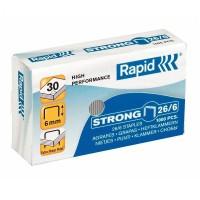Capse Rapid Strong 26/6, 1000 buc./cutie