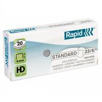Capse 23/6, 1000 buc./cut., Rapid Standard