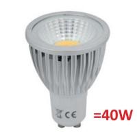Bec LED GU10, 5,5W, 460 lumeni, 6400K, TED Electric