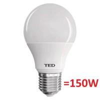 Bec LED E27, 18W, 1700 lumeni, 2700K, TED Electric