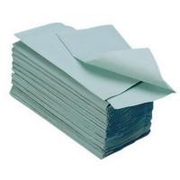 Prosoape V Fold 250 buc./pachet, set 4 pachete, hartie verde