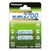 Acumulatori AA (R6), 2700 mAh, set 2 buc., Panasonic