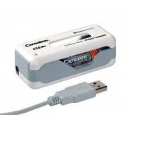 Incarcator USB pentru 2 acumulatori AA/AAA Camelion SlimPro