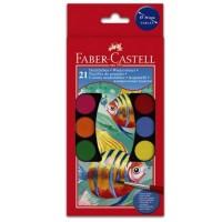 Acuarele 21 culori Faber-Castell
