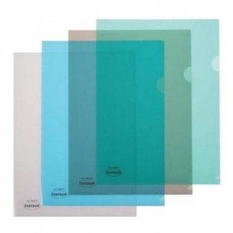 """Mapa plastic A4 in """"L"""", 180 microni, Centrum"""