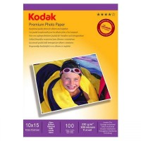 Hartie foto inkjet Kodak, 10x15cm, 230 g/mp, 100 coli/top
