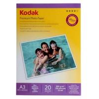Hartie foto inkjet lucioasa Kodak, A3, 200 g/mp, 20 coli/top